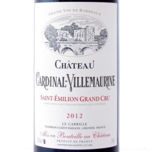 Saint-Emilion Grand Cru 2012