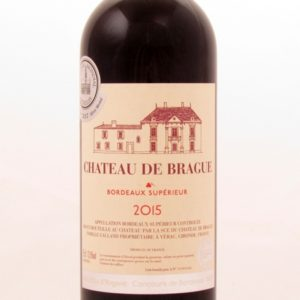 Bordeaux Superieur 2015 de Brague