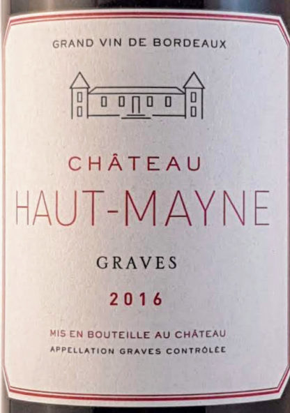 Graves rood 2016 Chateau Haut-Mayne
