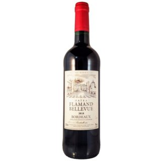 Bordeaux 2018 rood Chateau Flamand Bellevue