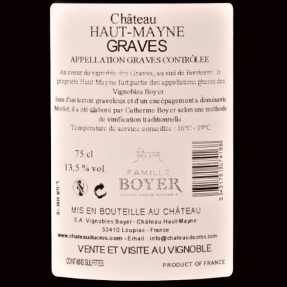 Graves Rouge Graves Rood 2016 Chateau Haut Mayne