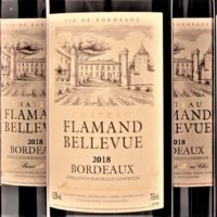 Bordeaux 2018 Flamand Bellevue